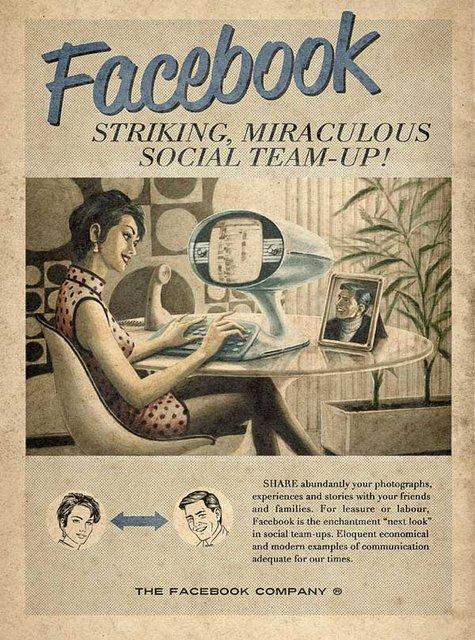 Stare reklame za društvene medije