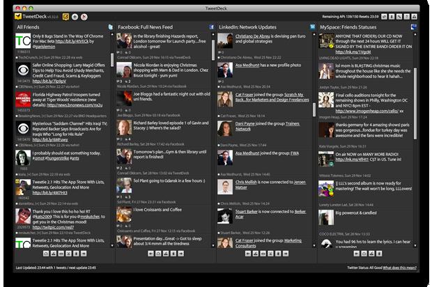 TweetDeck – Twitter operativni centar