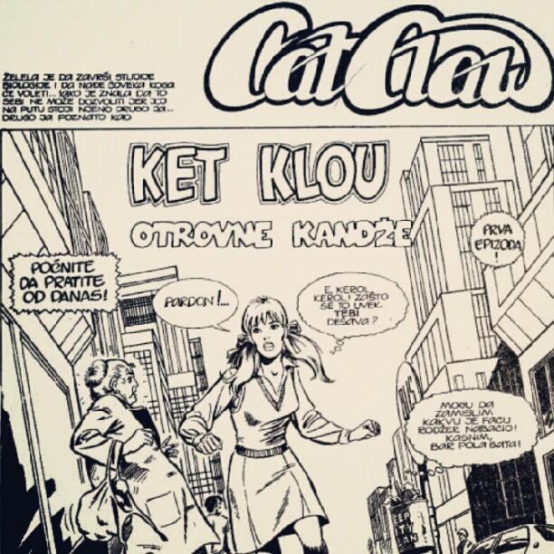 """Superjunakinja iz našeg kraja – """"Cat Claw"""""""