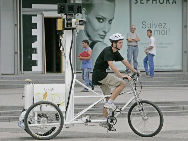 Google Maps – mapiranje triciklom