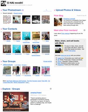 Nova Flickr naslovnica