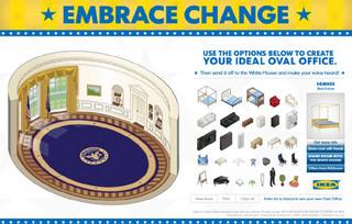Opremite Ovalni kabinet