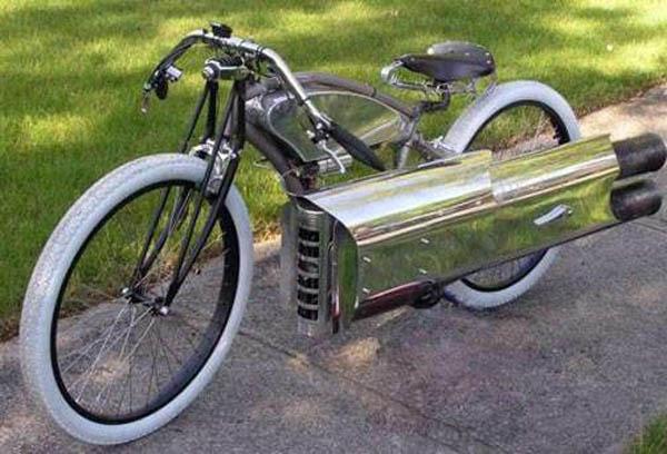 Bicikl sa super-motorom