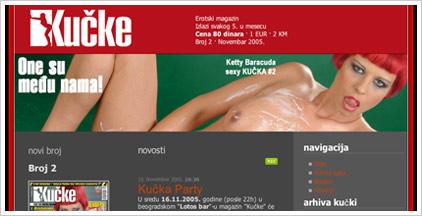 Web sajt erotskog magazina