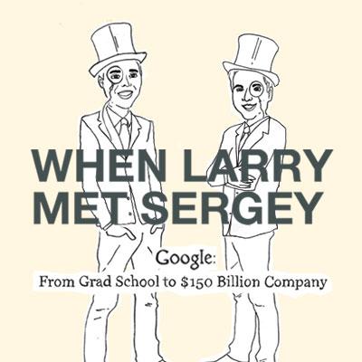 Google infografika: Kako su Larry i Sergey postali milijarderi