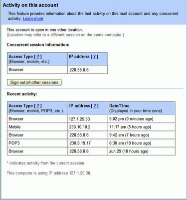 Povećanje sigurnosti Gmail-a