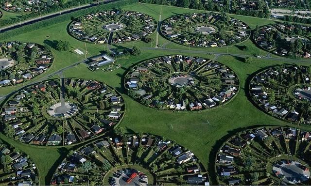 Kružna naselja