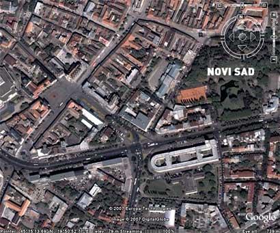 Google Earth (Maps) konačno pokrio i Novi Sad