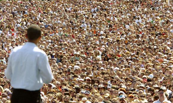 Obamanija kroz analizu govora