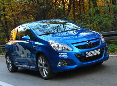 Opel Corsa OPC – kao metak