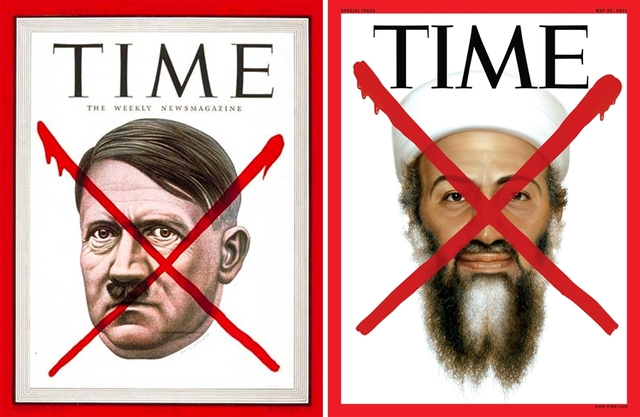 "Time – bin Laden sa crvenim ""X"""