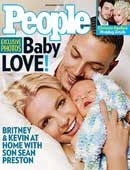 Britney Spears ekspolatiše bebu