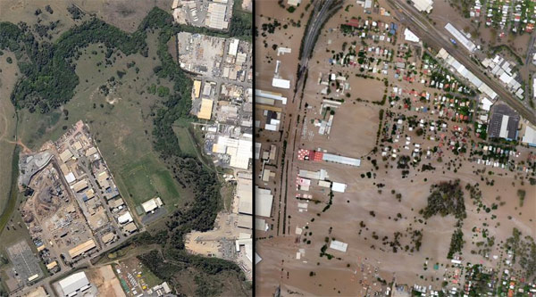 Poplava: pre i posle