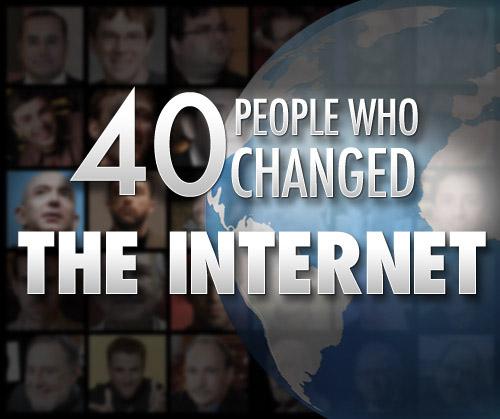 40 ljudi koji su promenili Internet