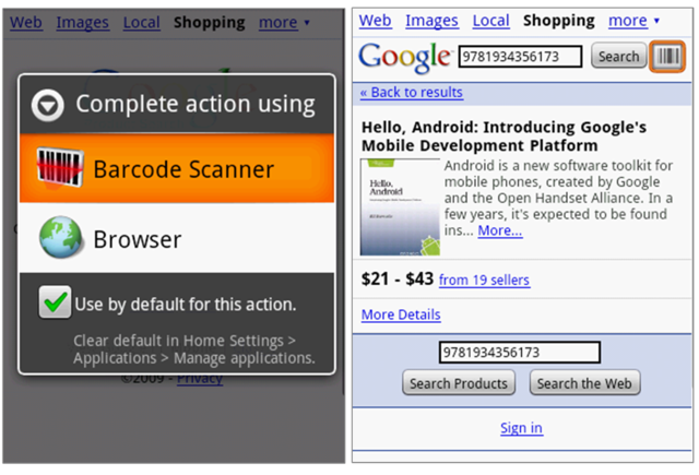 Barcode Scanner za Android