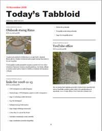 Tabbloid – iz RSS-a u PDF magazin