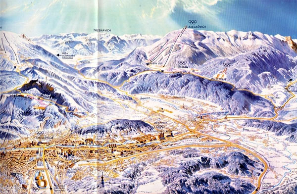 1984: Olimpijski grad