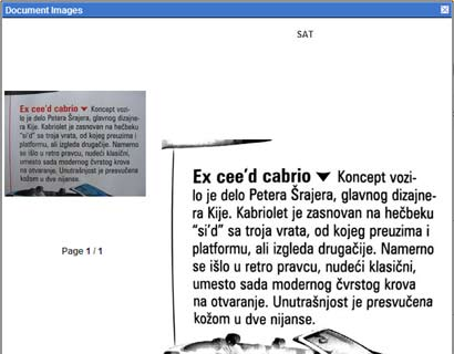 Kako preneti na Web preneti press kliping bez skenera