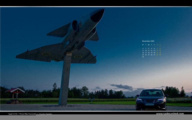 Saab desktop kalendari