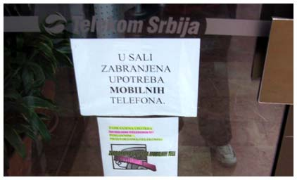 Telekom zabranjuje telefoniranje (?!)