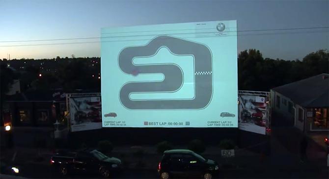 Zanimljiva interaktivna BMW reklama u Južnoj Africi