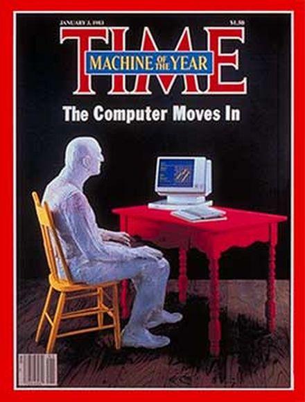 """TIME magazin pre 30 godina proglasio računar za """"ličnost godine"""""""