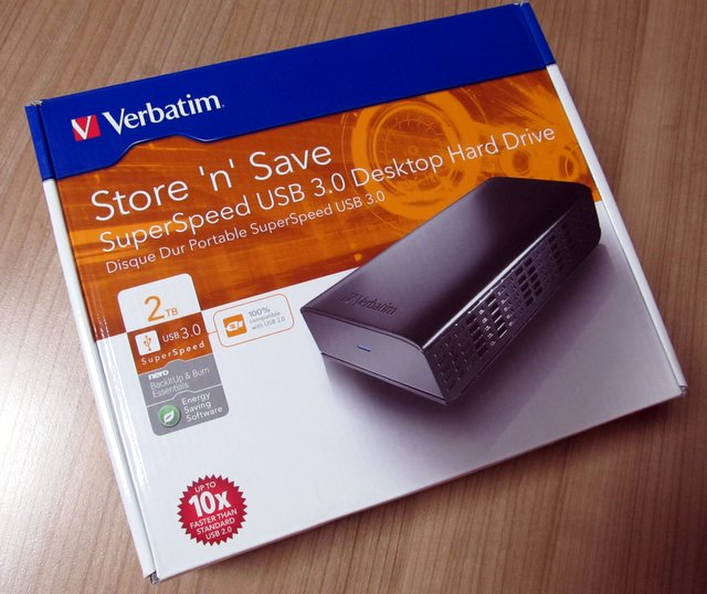 Verbatim Store 'n' Save SuperSpeed USB 3.0 hard disk kapaciteta 2 TB