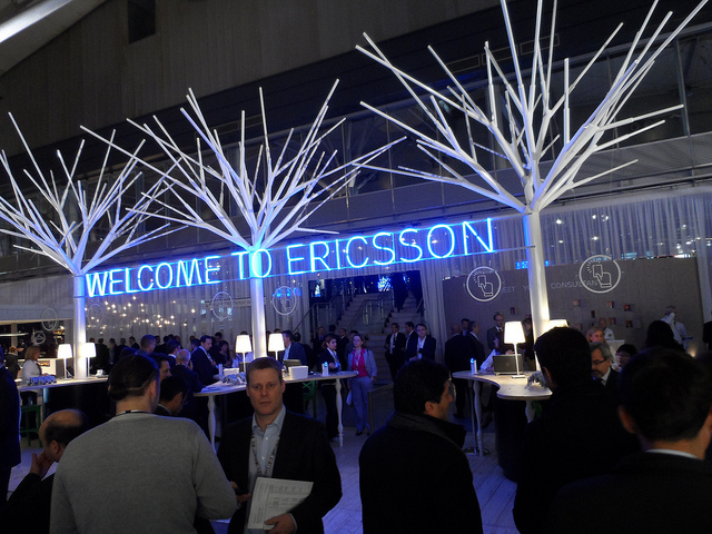Ericsson na Mobile World Congressu 2013