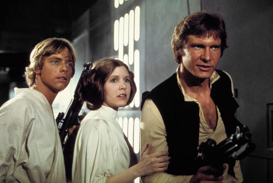 "Poznata trojka u Star Wars ""Epizodi VII"""