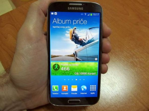 Samsung Galaxy S4 na velikom testu