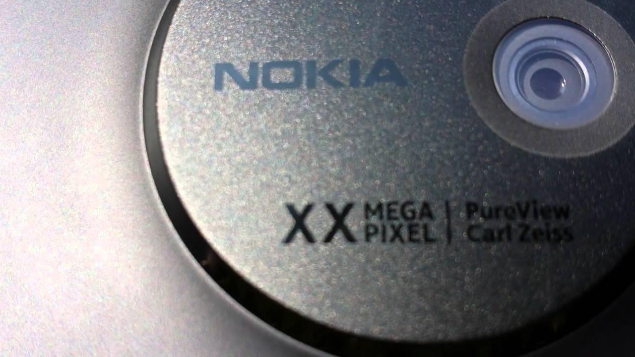 Nokia PureView EOS 41-megapikselna kamera