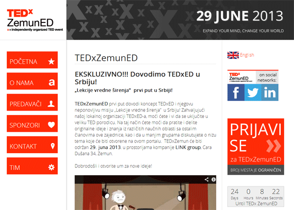 Edukativna TEDx konferencija u LINK group
