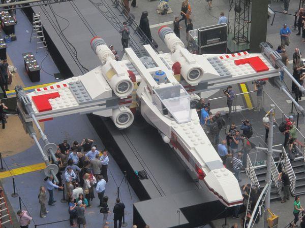 Najveći Lego model na svetu – X-wing Starfighter