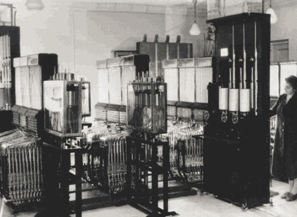 Sovjetski analogni vodeni računar iz 1936.