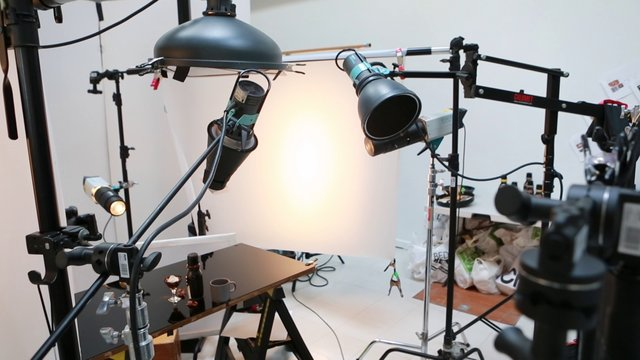 Iza scene: kako se snima reklamna fotografija