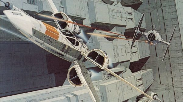 Originalni Star Wars Concept Art