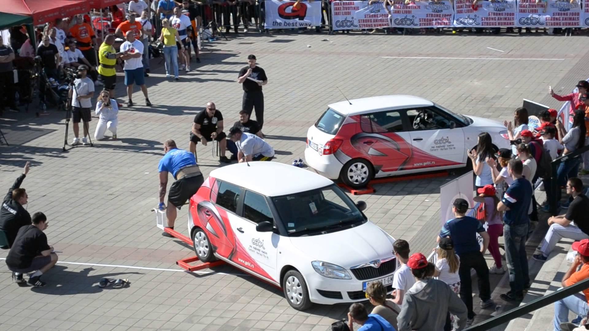 Strongman Champions League 2014 Novi Sad