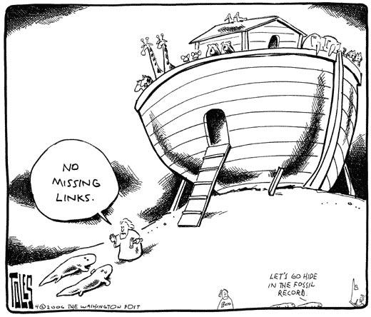 Karikature Gary Larsona