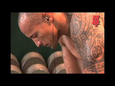 M&F Dwayne Johnson trening