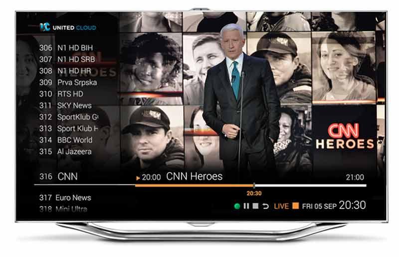 SBB od sledeće nedelje nudi EON TV platformu
