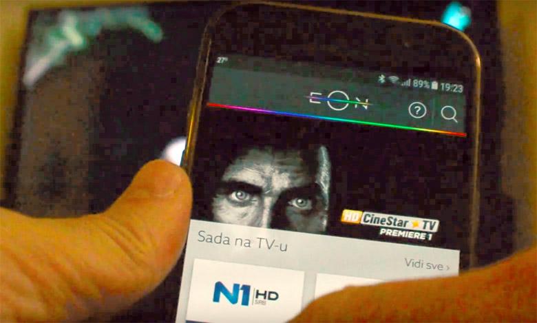 EON TV platforma na mobilnom